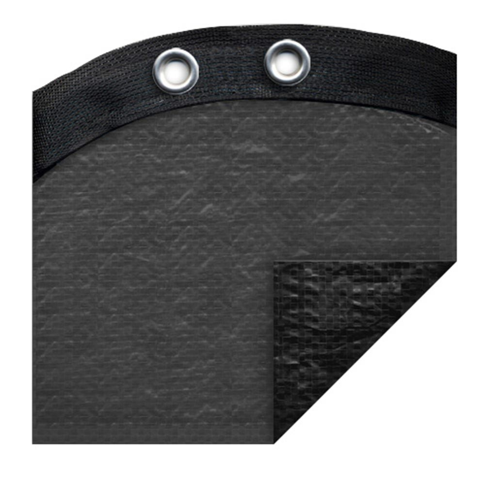 <b>Robelle Premium</b> Winter Cover <br>18' x 33' Oval Pool Size - Charcoal