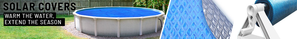 "<font size=""3"" color=""grey"">Solar Blankets for a</font><br><font size=""6"" color=""#4c586f""><strong>12' </strong>Above Ground Round Pool</font>"